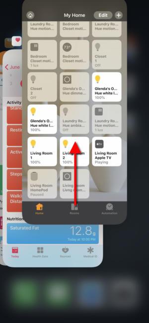 ios12 close apps