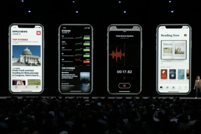 ios12 redesigns