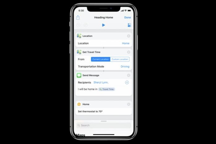 ios12 shortcuts editor