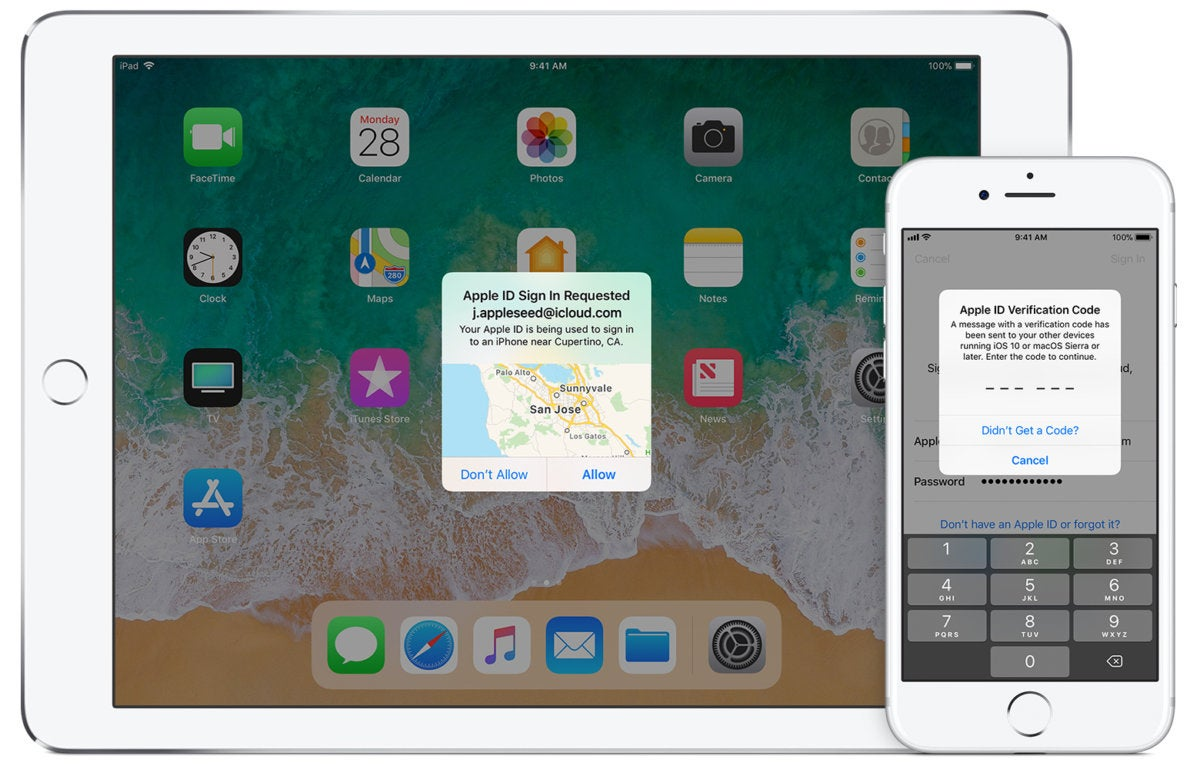 iphone7 ipad ios11 apple id two factor hero