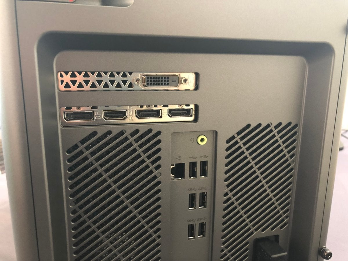 lenovo legion c530 c730 rear ports detail
