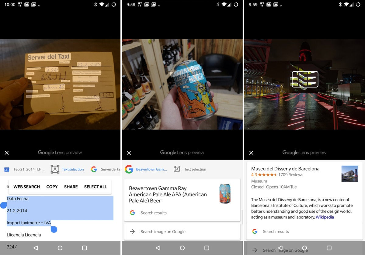 Google Lens for Google Photos