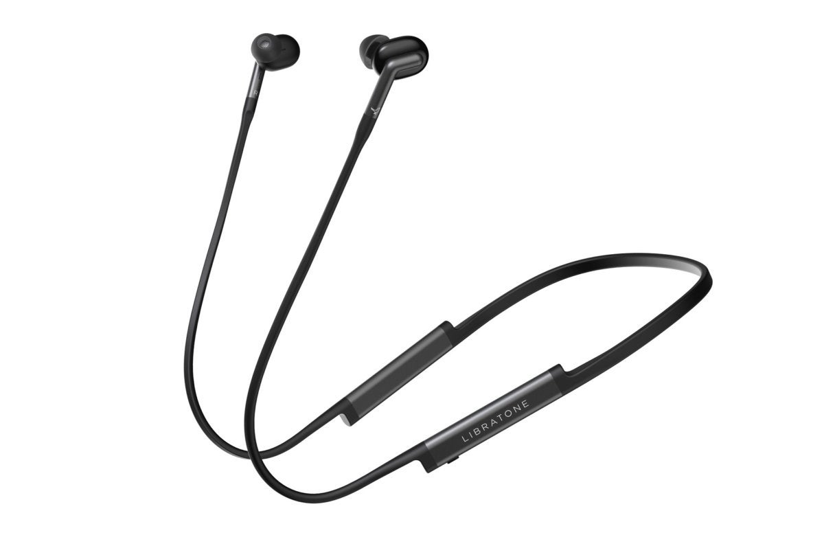 Libratone Track+ noise cancelling wireless headphones.