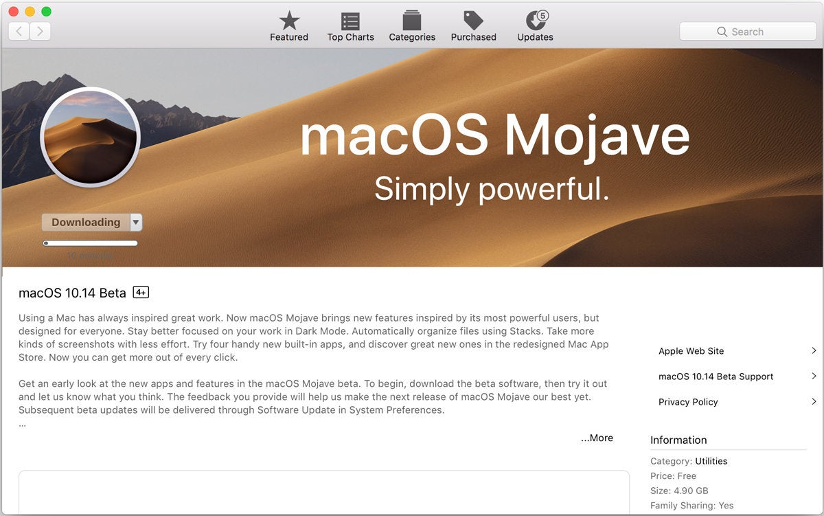 How to create a bootable macOS Mojave installer drive | IDG Connect