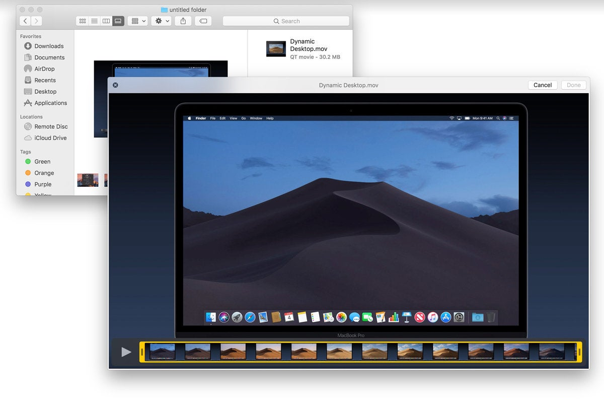Apple, Mac, macOS, OS X, Mojave, Operating system, Mac, Quick Actions