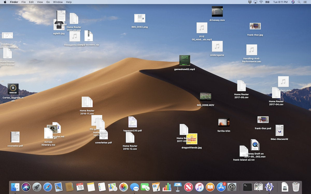 Apple, Mac, macOS,OS X, Macintosh, macoS 10.14 Mojave