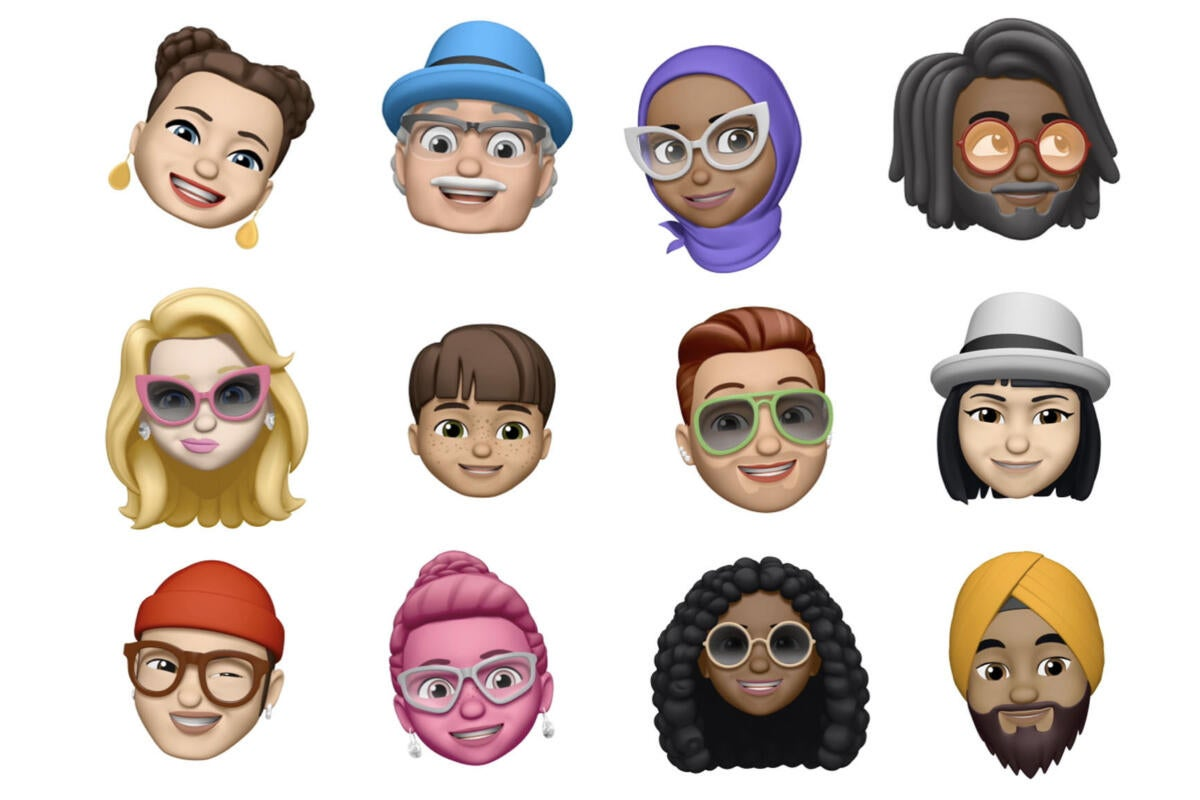 photo image How to create and edit Memoji in iOS 12