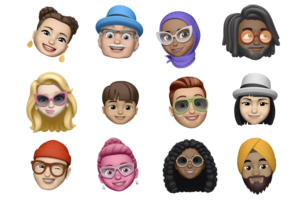 memoji faces apple