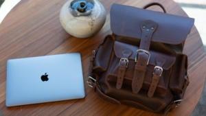 Saddleback Leather Thin Front Pocket Backpack