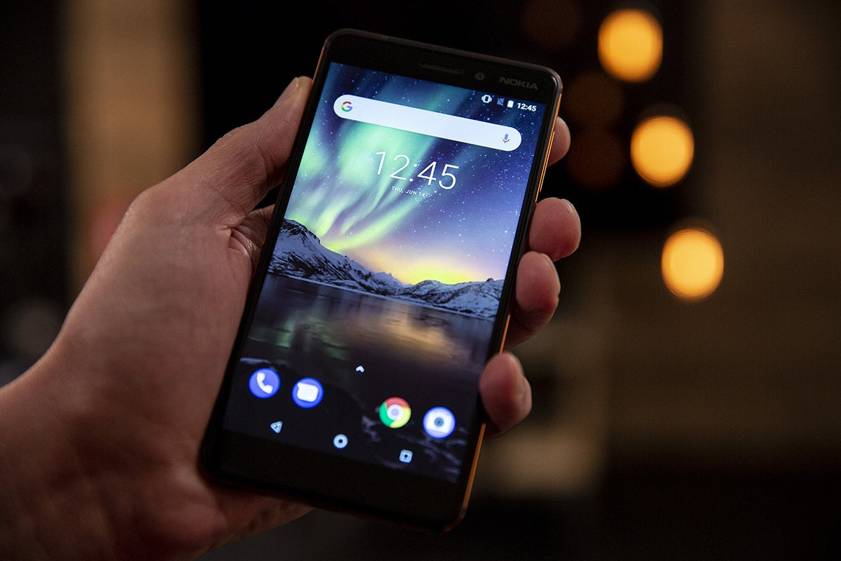 nokia 6.1 home screen