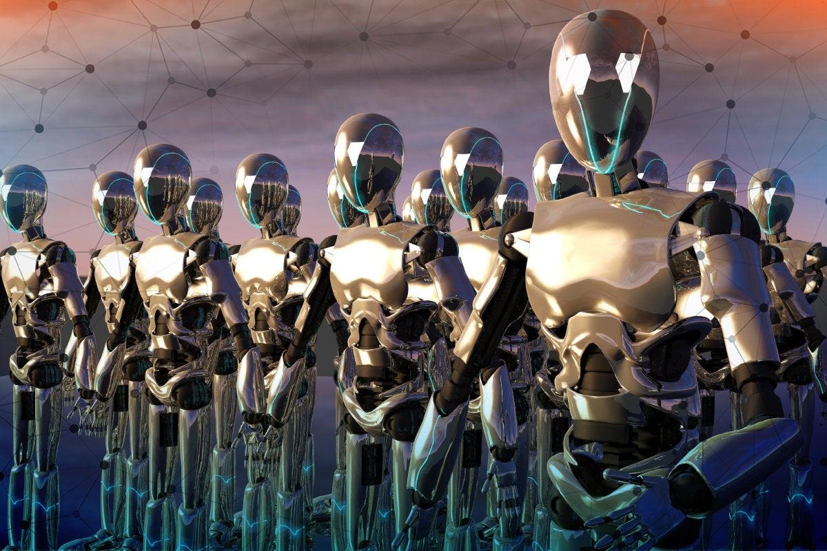 Network World: IoT Hacks [slide-02] > Botnet Trouble > Botnet army