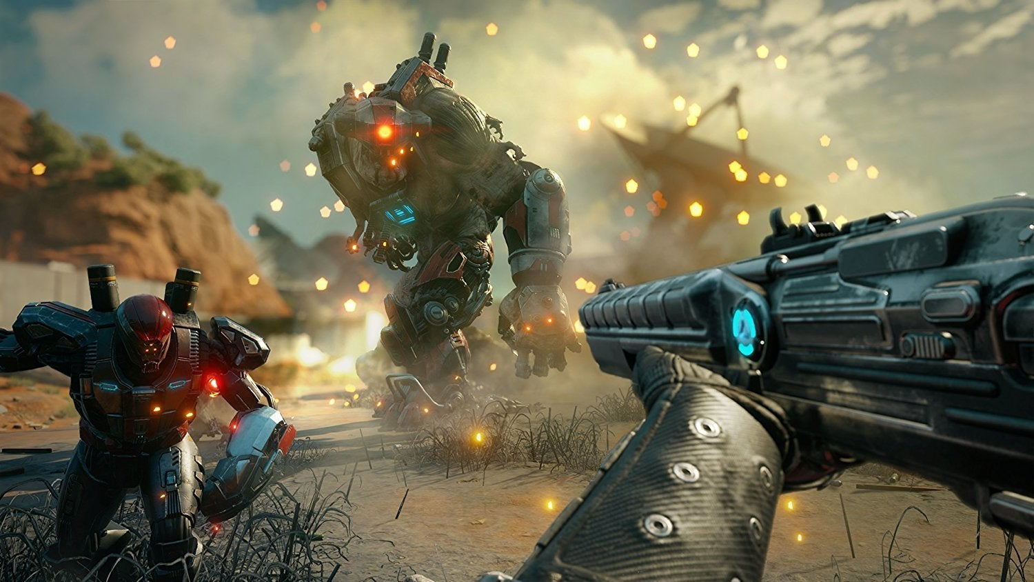 Hands-on: Rage 2's Doom-inspired action is a maelstrom of