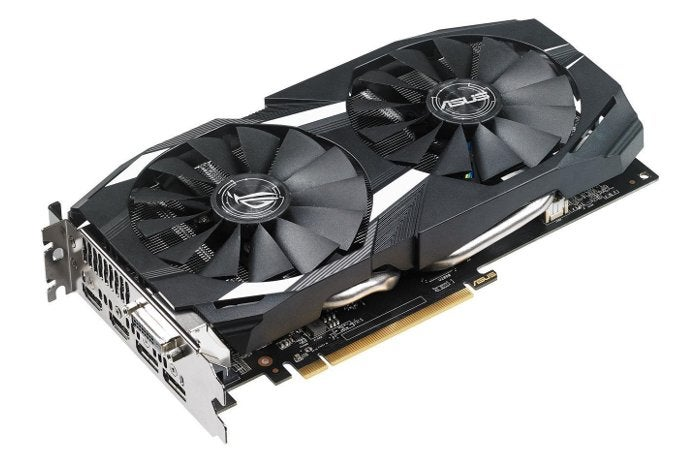 You can get a 4GB Asus Radeon RX 580 graphics card for $210