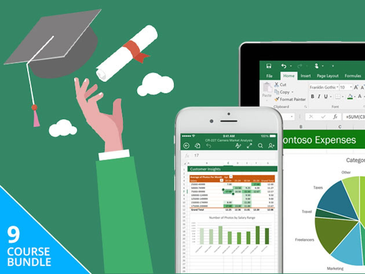 Master Microsoft Excel With This Certification Bundle Now 39 Pcworld