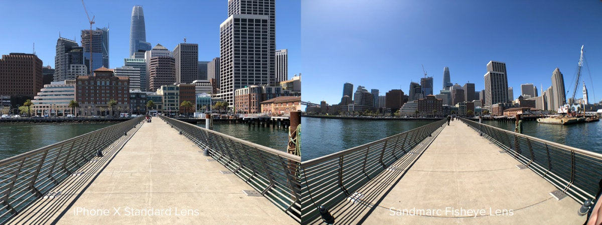 Sandmarc Fisheye Comparison San Francisco