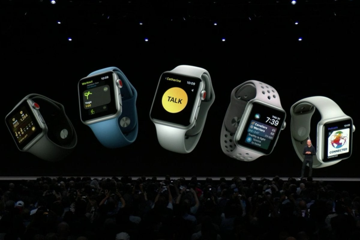 Apple WWDC 2018 watch OS