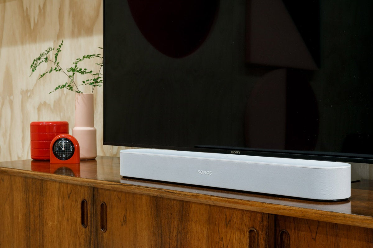 the sonos beam smart soundbar will support amazon s alexa. Black Bedroom Furniture Sets. Home Design Ideas