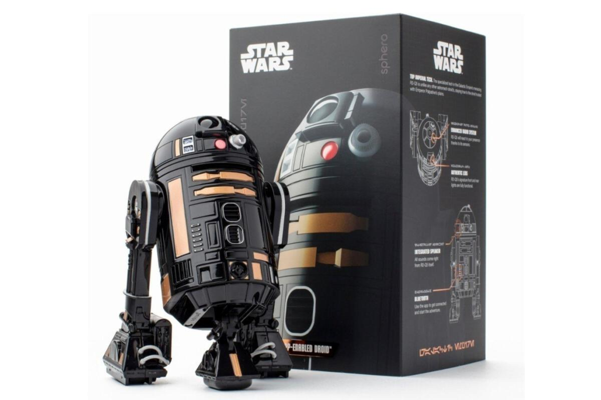 photo image Celebrate Dark Mode with this $50 Sphero Star Wars droid from Best Buy
