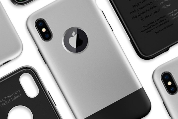 spigen 39 s classic one iphone x case is selling for 16 on. Black Bedroom Furniture Sets. Home Design Ideas