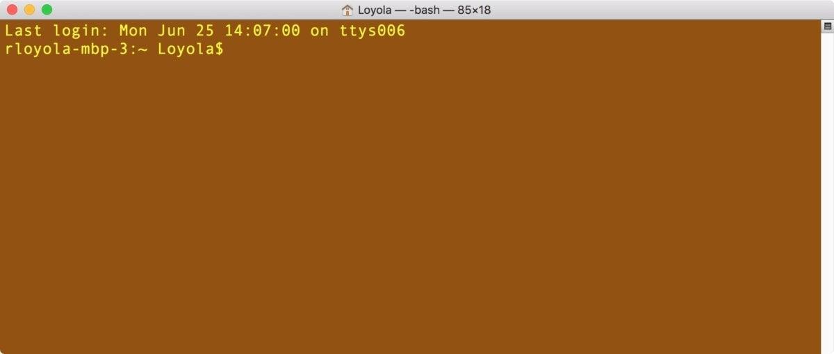 terminal mojave boot drive 1