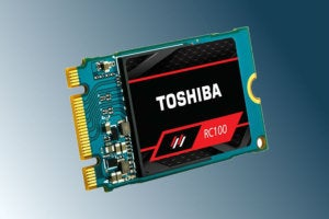 toshiba rc100 nvme ssd primary