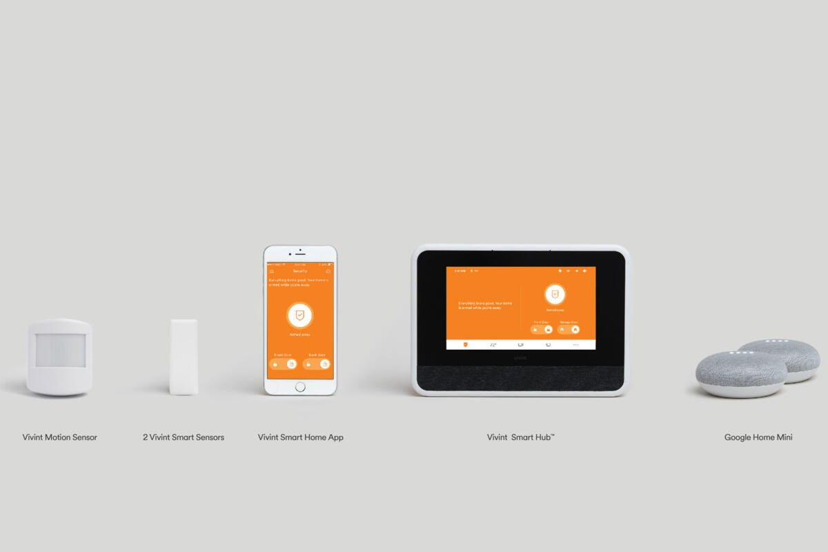 vivint and google