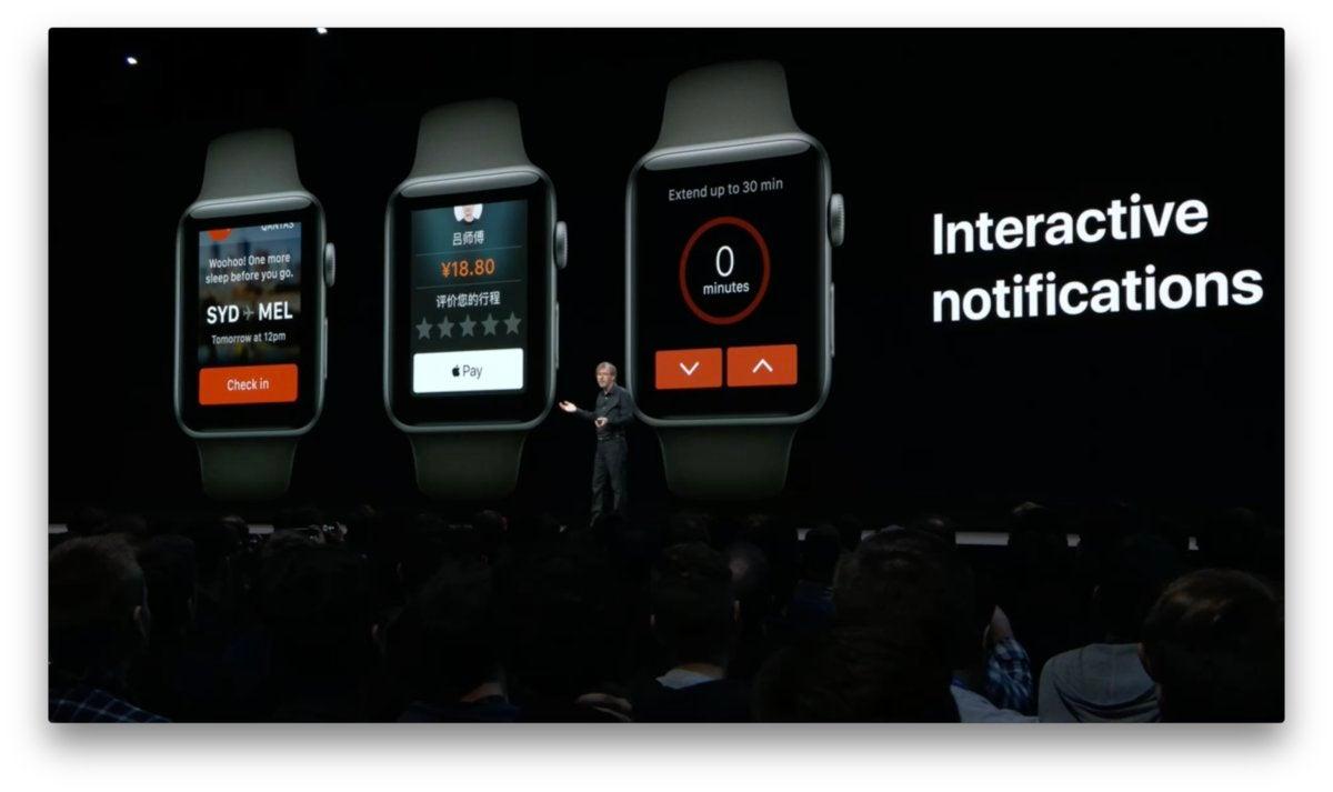 watchos 5 interactive notifications