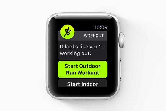 watchos 5 start workout