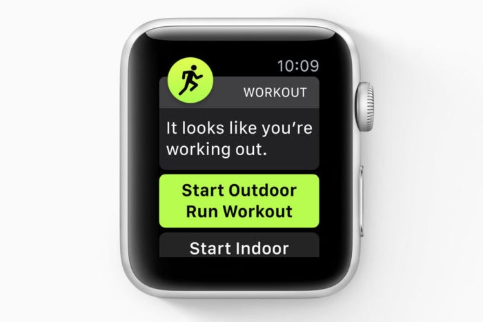 watchos5 auto workout