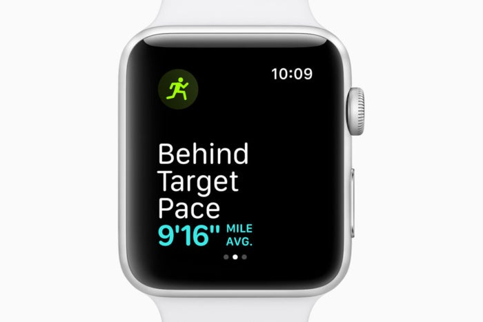 watchos5 pace