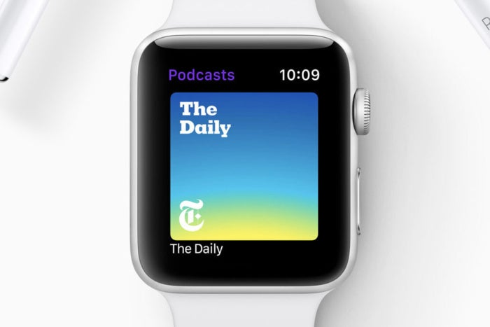 watchos5 podcasts