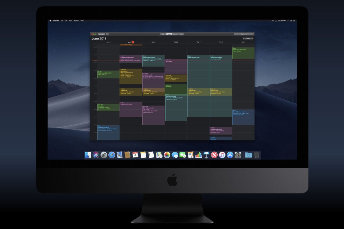 wwdc18 macos dark mode