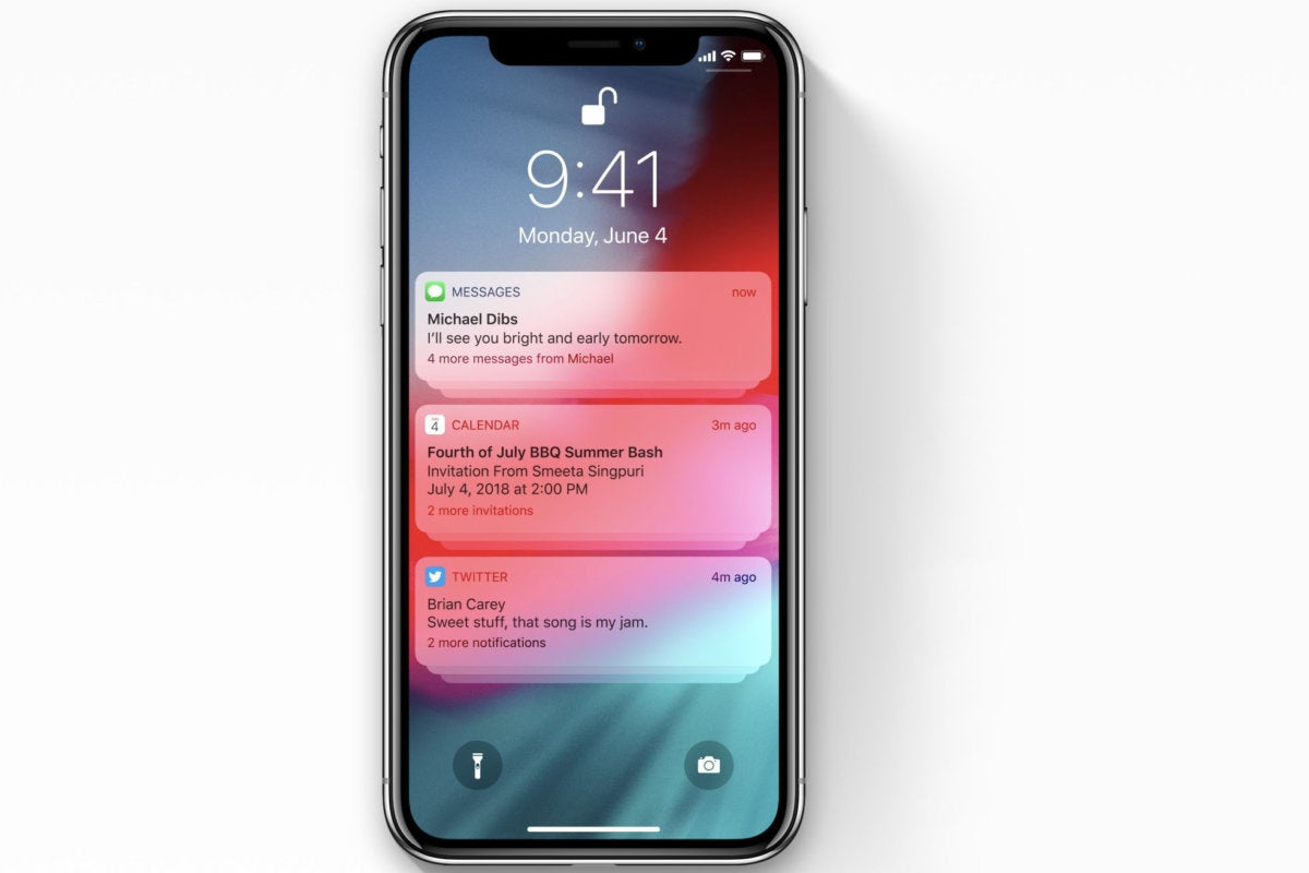 wwdc18 notifications