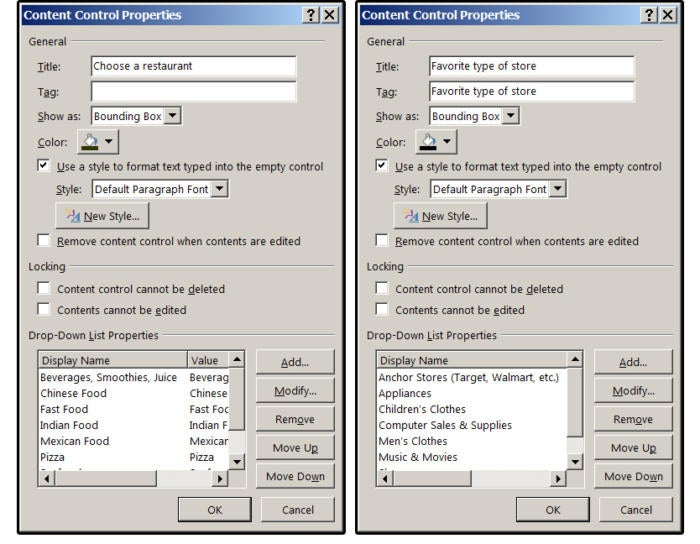 How to create and use custom forms in Word | PCWorld