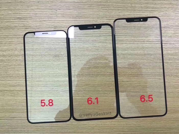 2018 iphone front panel leak