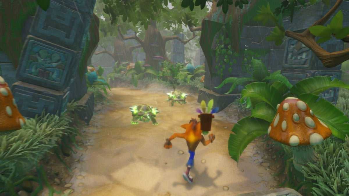 Review impressions: The definitive Crash Bandicoot experience in