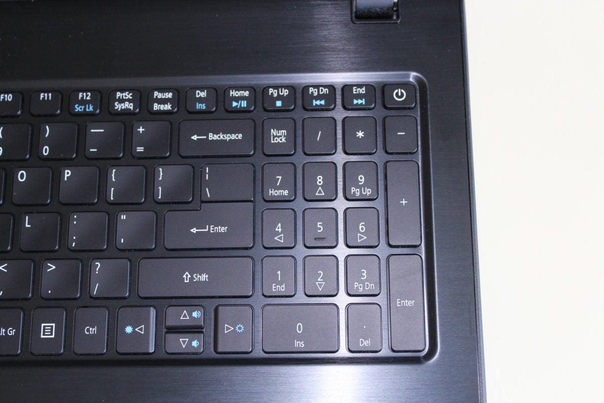 acer aspire e15 e5 576g 5762 keyboard right