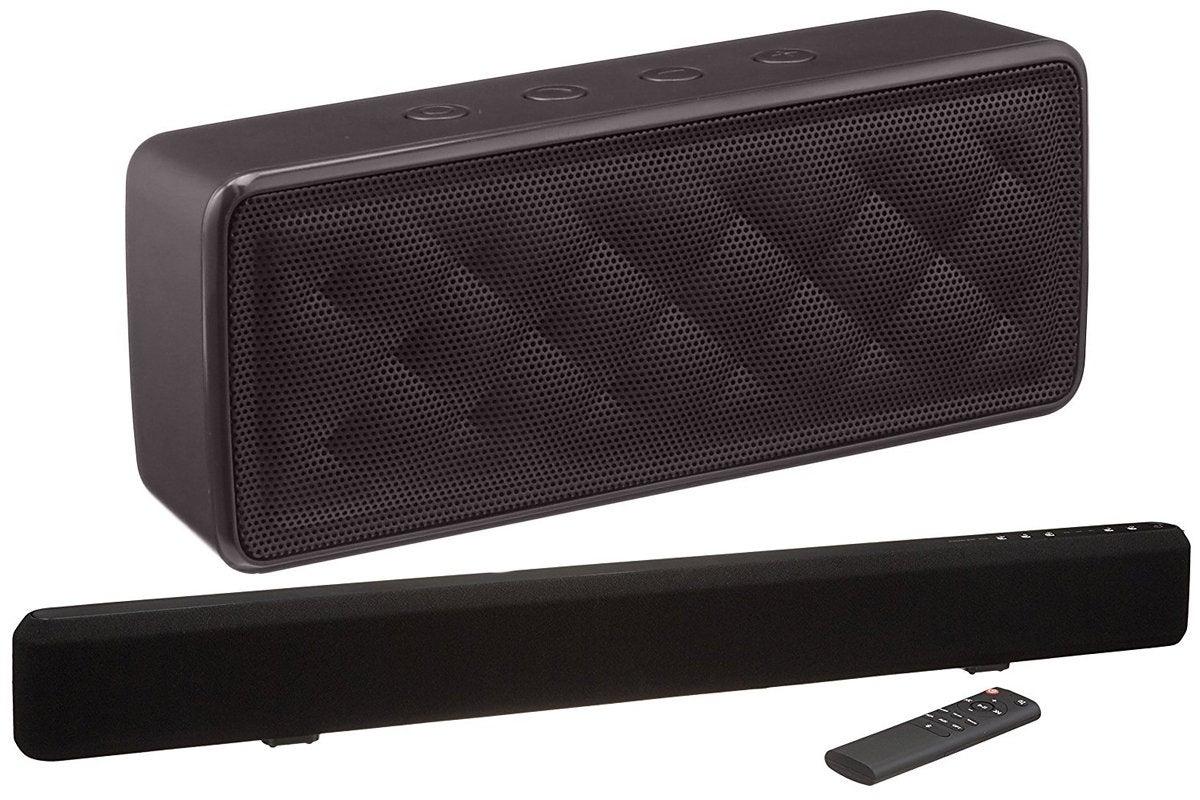 amazonbasics soundbar speaker
