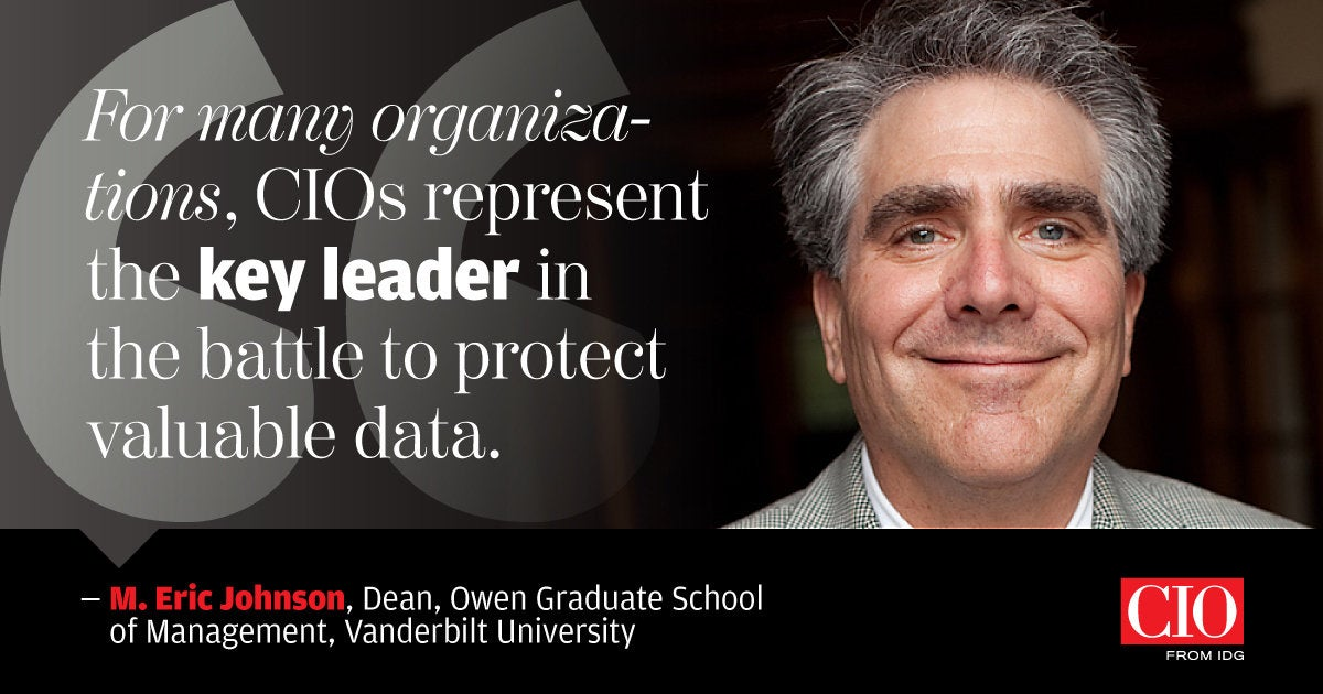 CIO [2018-07-31] > M. Eric Johnson, dean, Owen Graduate School of Management, Vanderbilt University