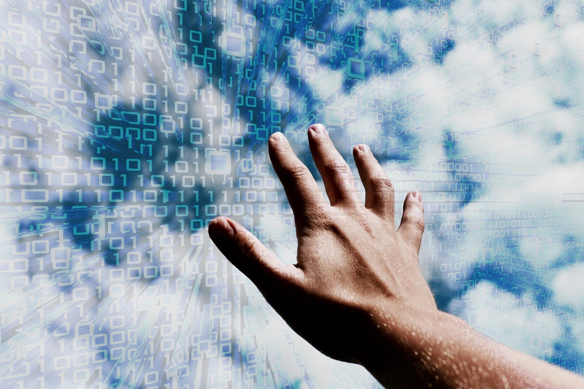 cloud hand touch create access secure clouds reach tech job certification