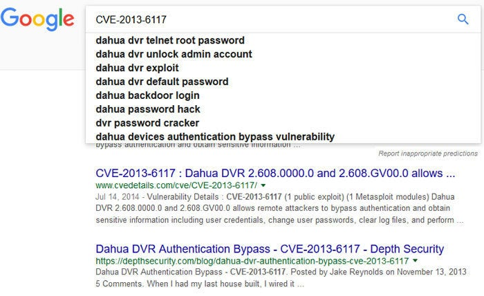 IoT search engine ZoomEye cached passwords for thousands of Dahua