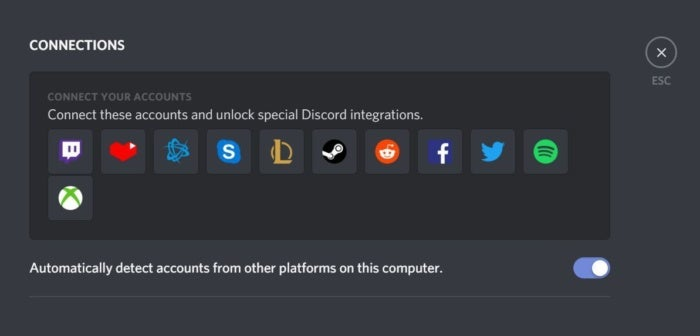 discord connections
