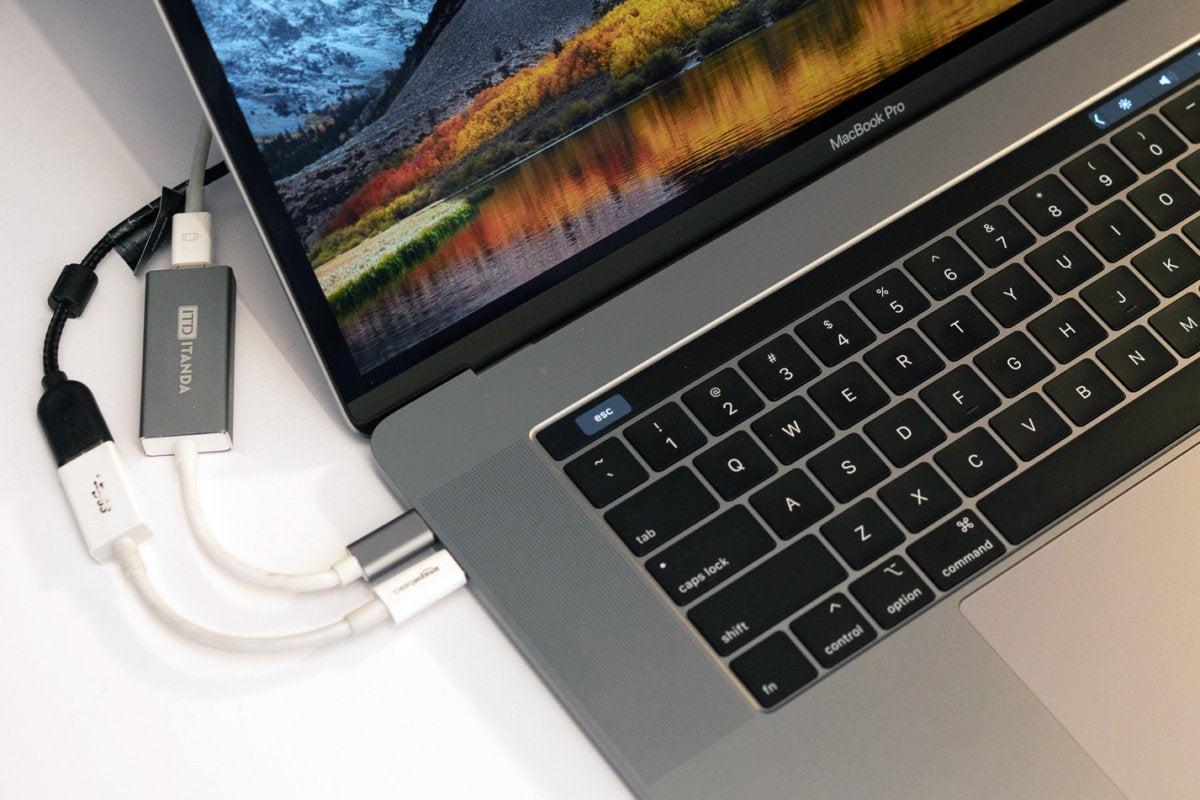 MacBook Pro dongles