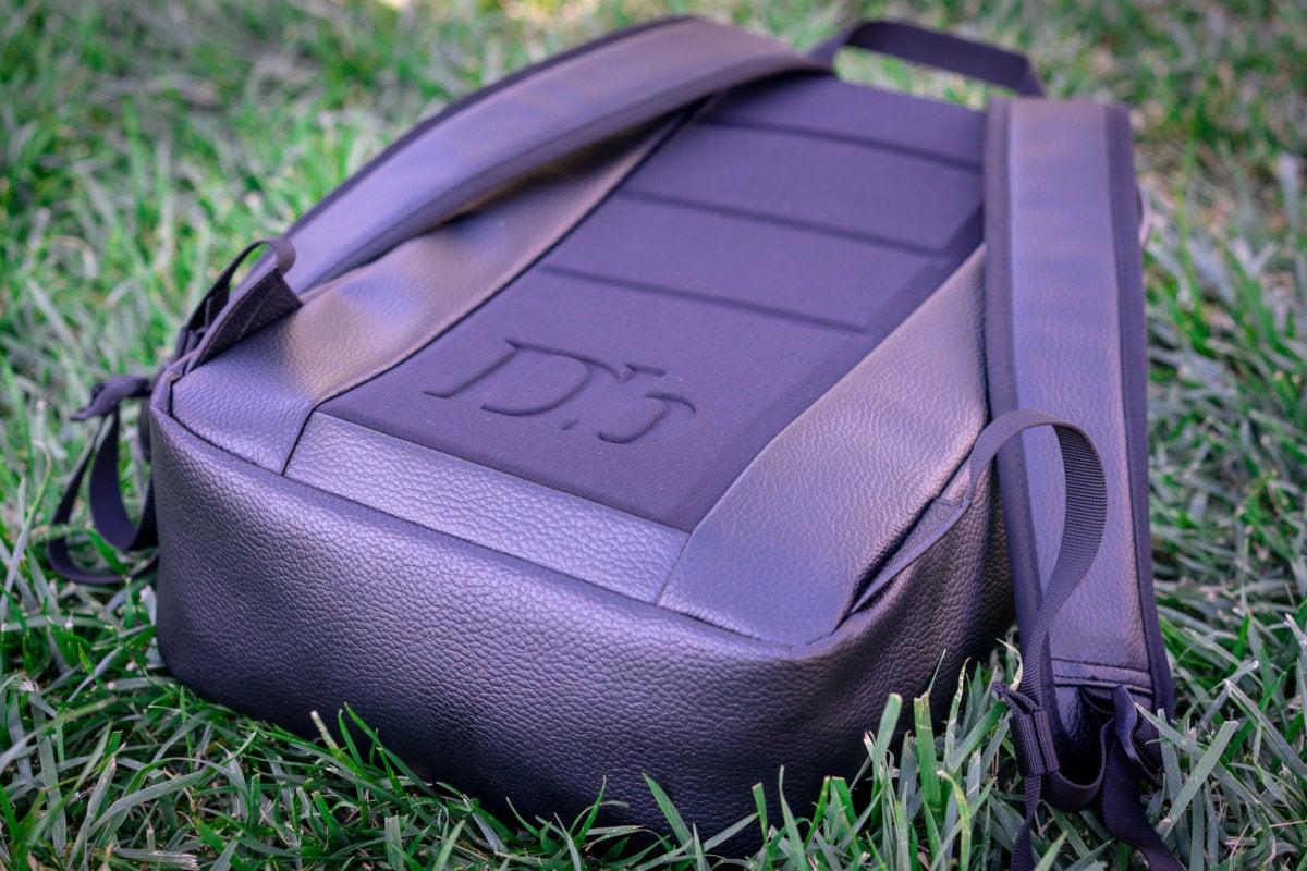 douchebag scholar backpack rear view