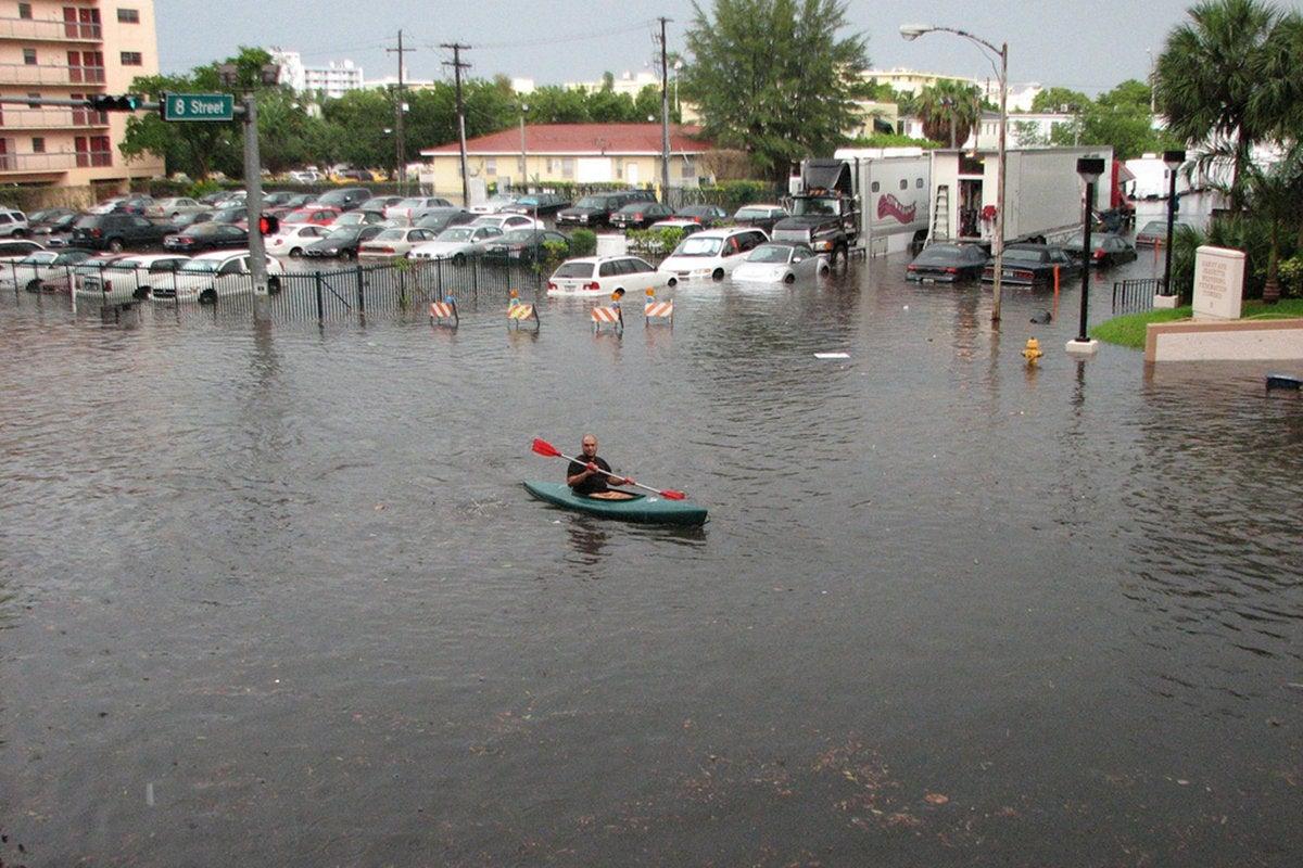 flooding miami south beach