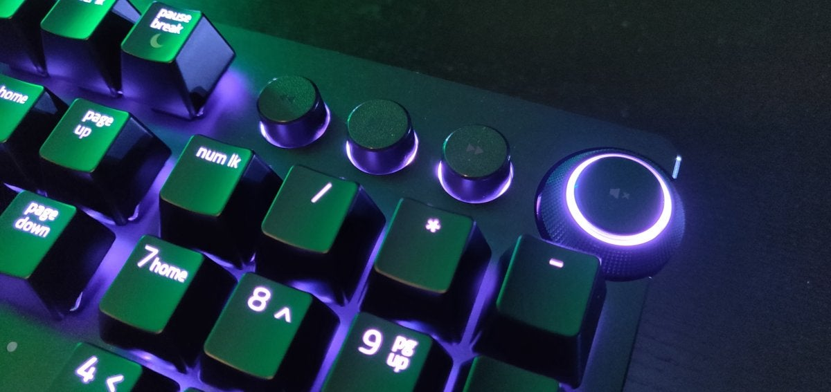 Razer Huntsman Elite review: Optical switches arrive, but that's not
