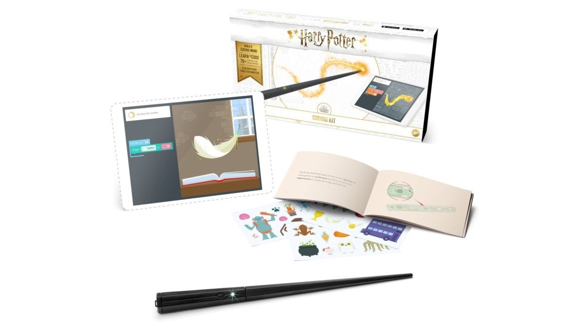 Hands-on with the Harry Potter Kano Coding Kit | PCWorld