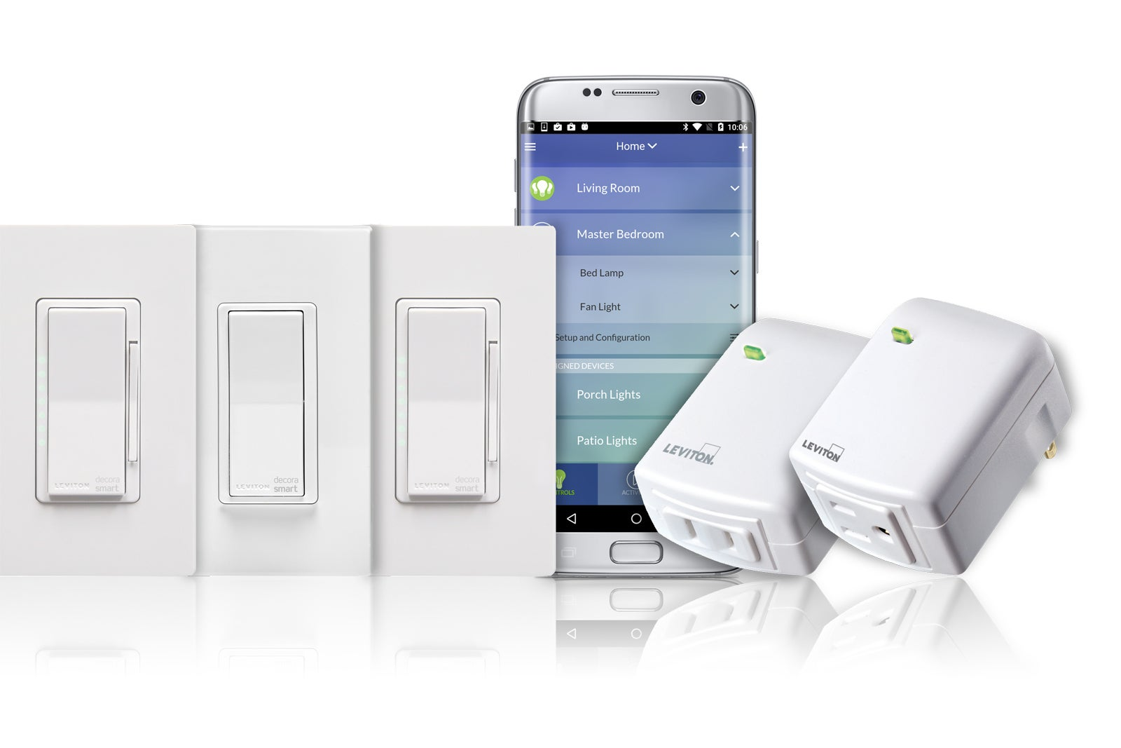 Leviton Decora Smart Wi Fi Review Recent Upgrades Pile On The Add A Light From Switched Receptacle Control Options Techhive