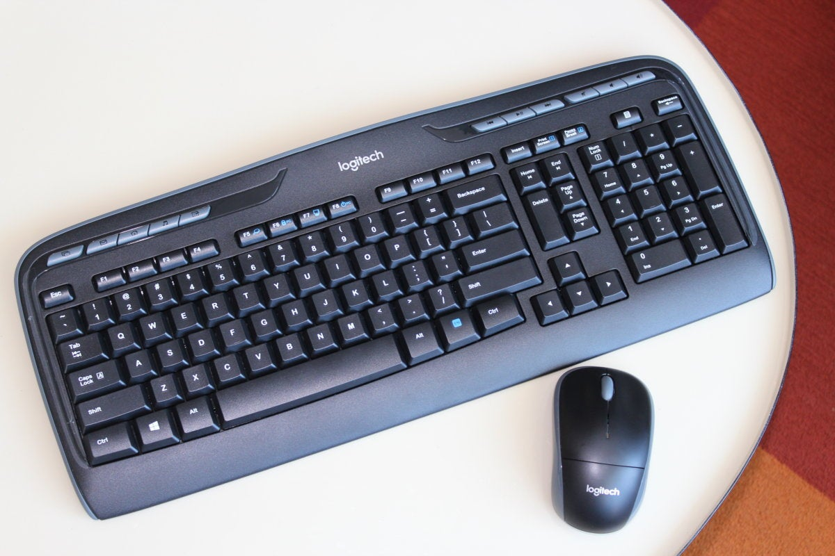 Logitech MK320 wireless keyboard & mouse review: A flawed