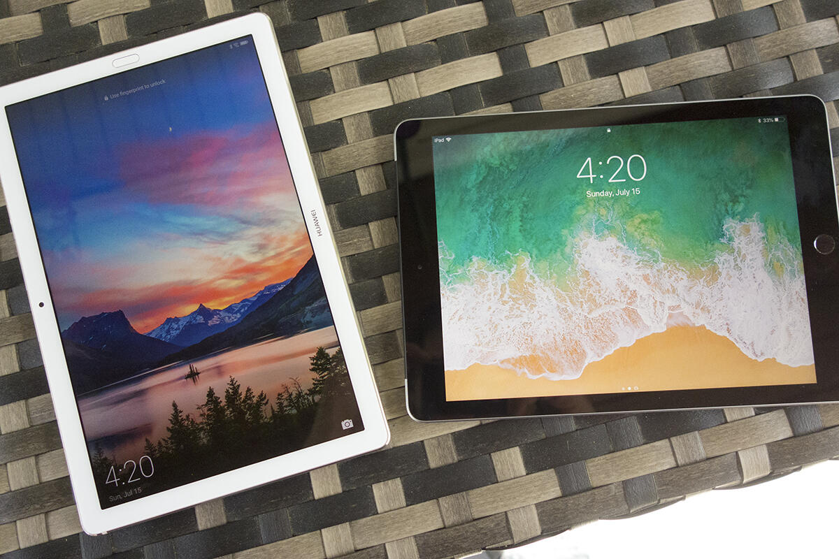 Huawei MediaPad M5 Pro vs. Apple iPad: A premium Android tablet takes on the